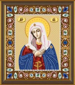Набор для вышивки бисером Богородица Умиление, , 130.00грн., Д6022, Новая Слобода (Нова слобода), Наборы с пришивными камнями