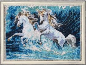 Набор для вышивки бисером Бегущие по волнам