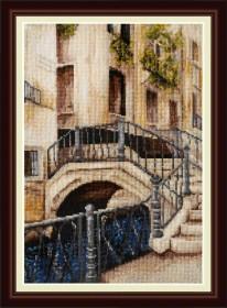 Набор для вышивки крестом Венецианский мостик