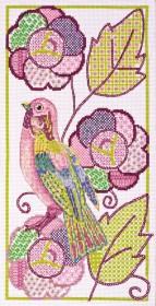 Набор для вышивки крестом Птичка 2
