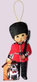 Набор для изготовления куклы из фетра для вышивки бисером Кукла. Англия М
