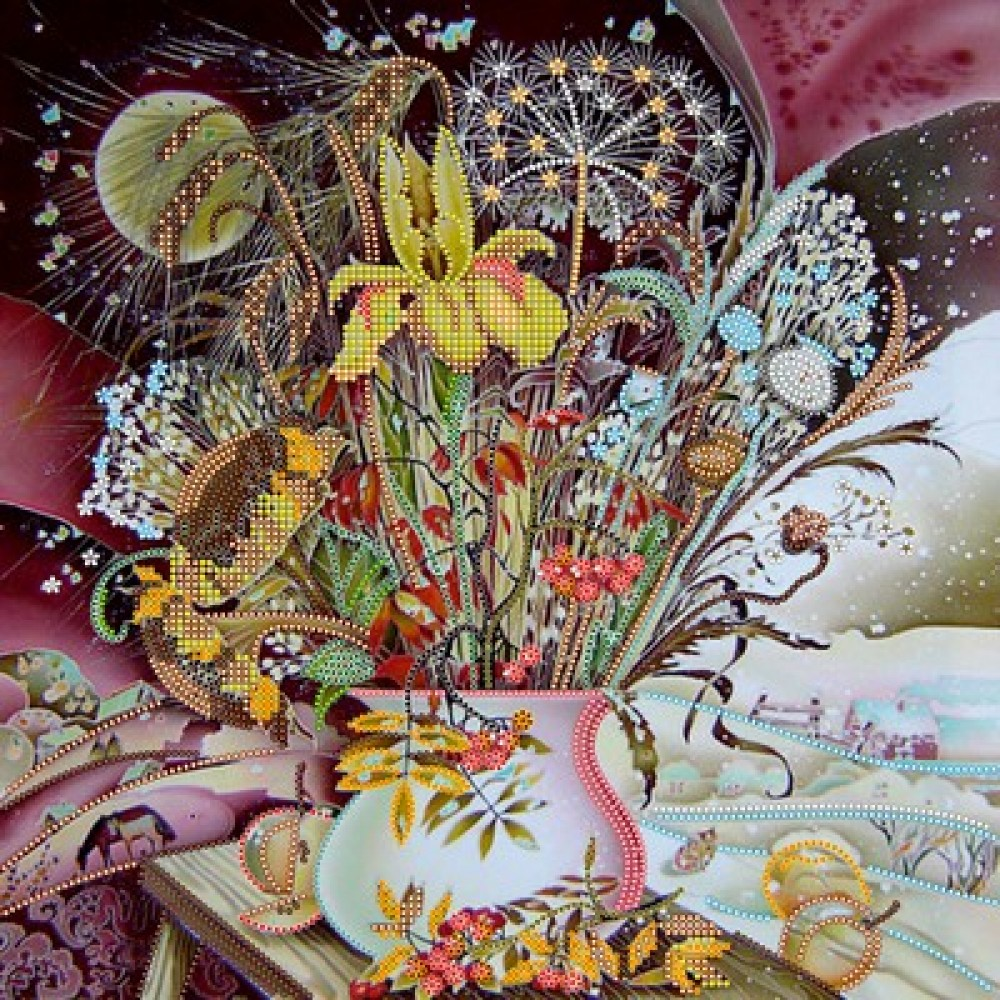 Букет из желтых хризантем своими руками