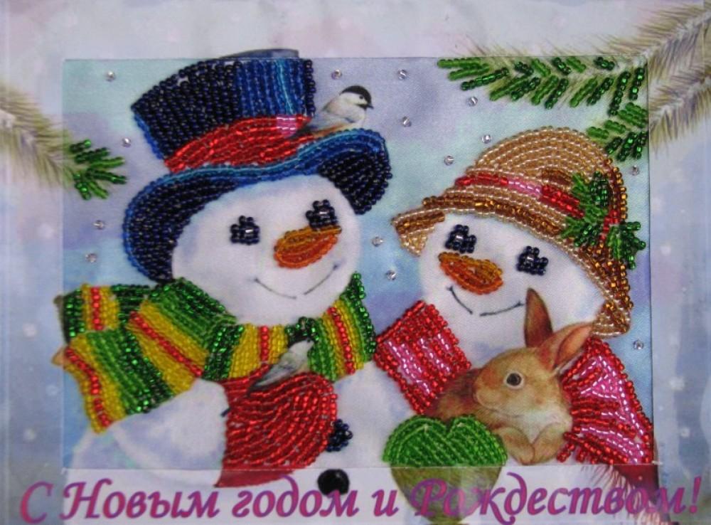 Картины своими руками на новый год
