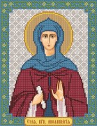 Набор для вышивки бисером Святая Апполинария (Полина)
