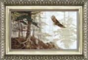 Набор для вышивки крестом Полёт орла