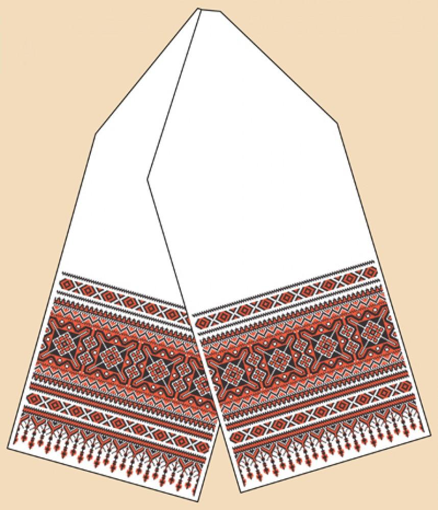 рушник жар-птицы схема