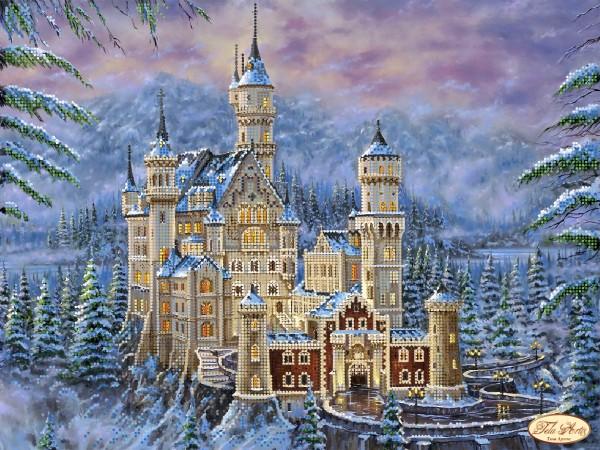 Замок нойшванштайн вышивку купить