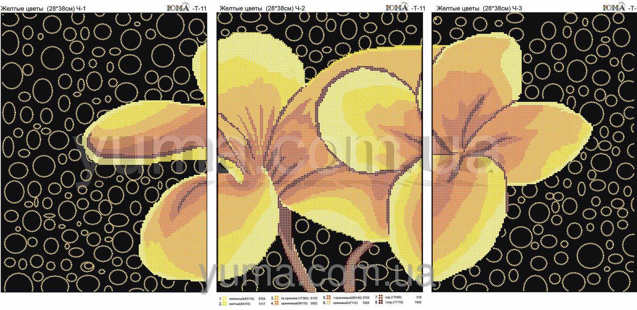 схема триптих три цвета моря