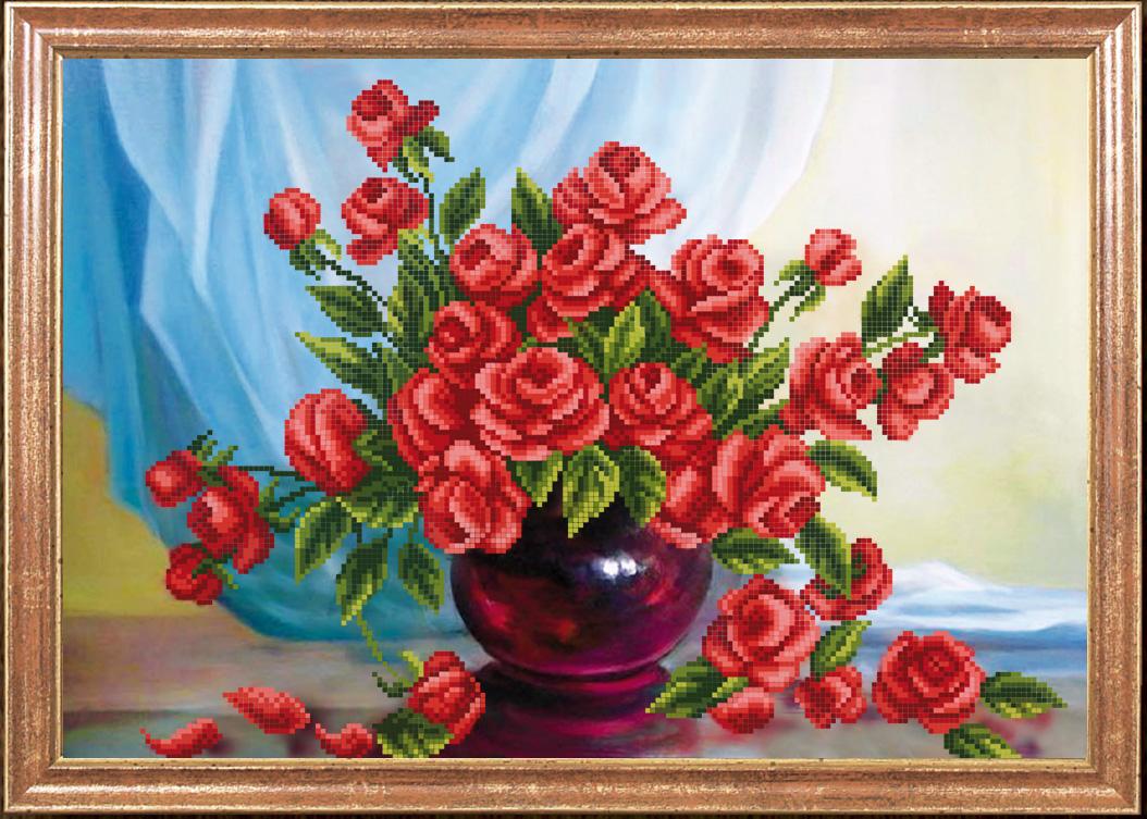аромат роз схема вышивки