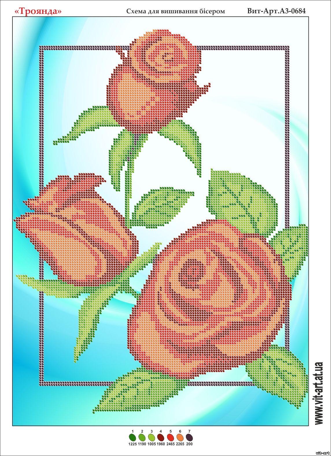схема роза написать