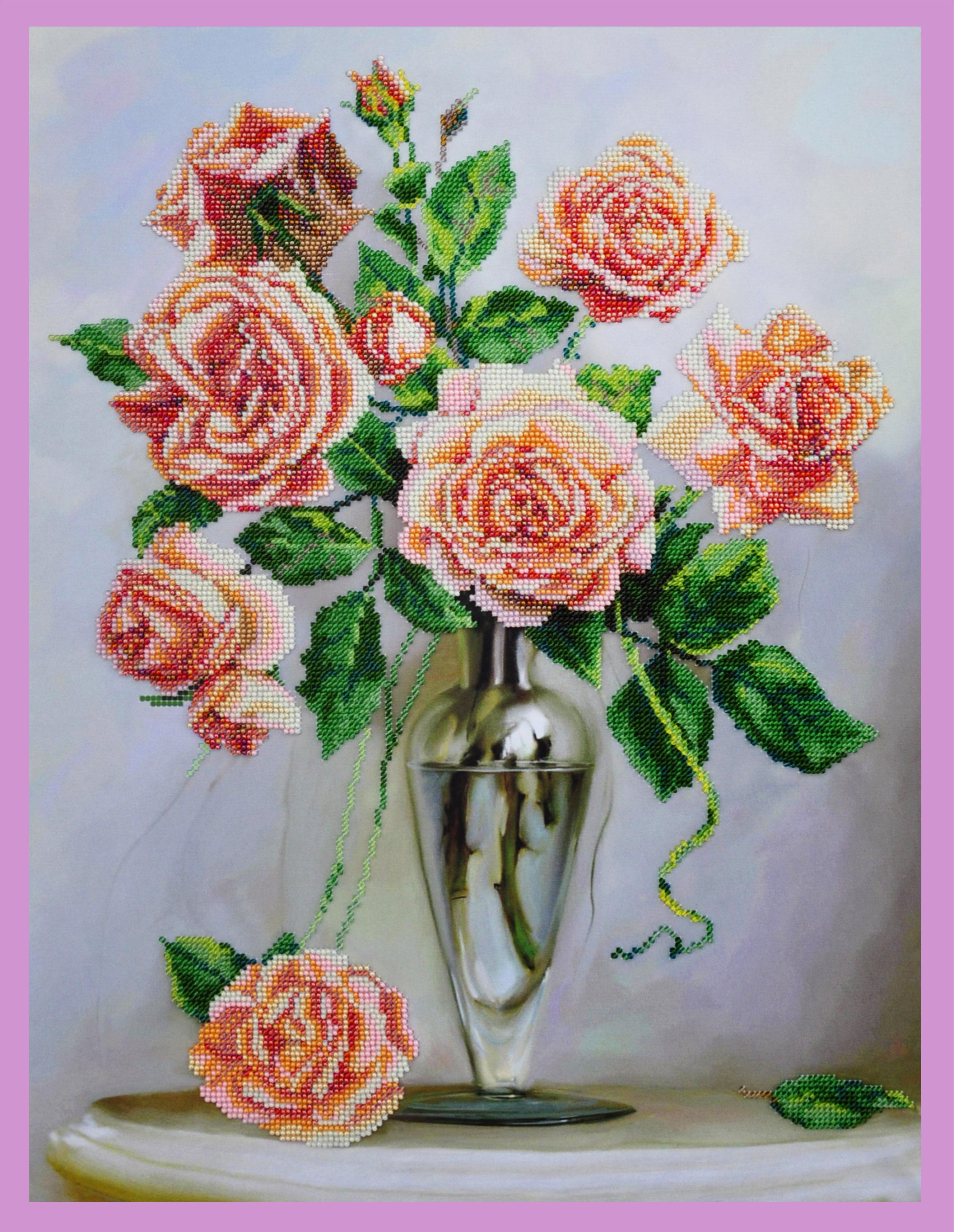 Набор для вышивки роза