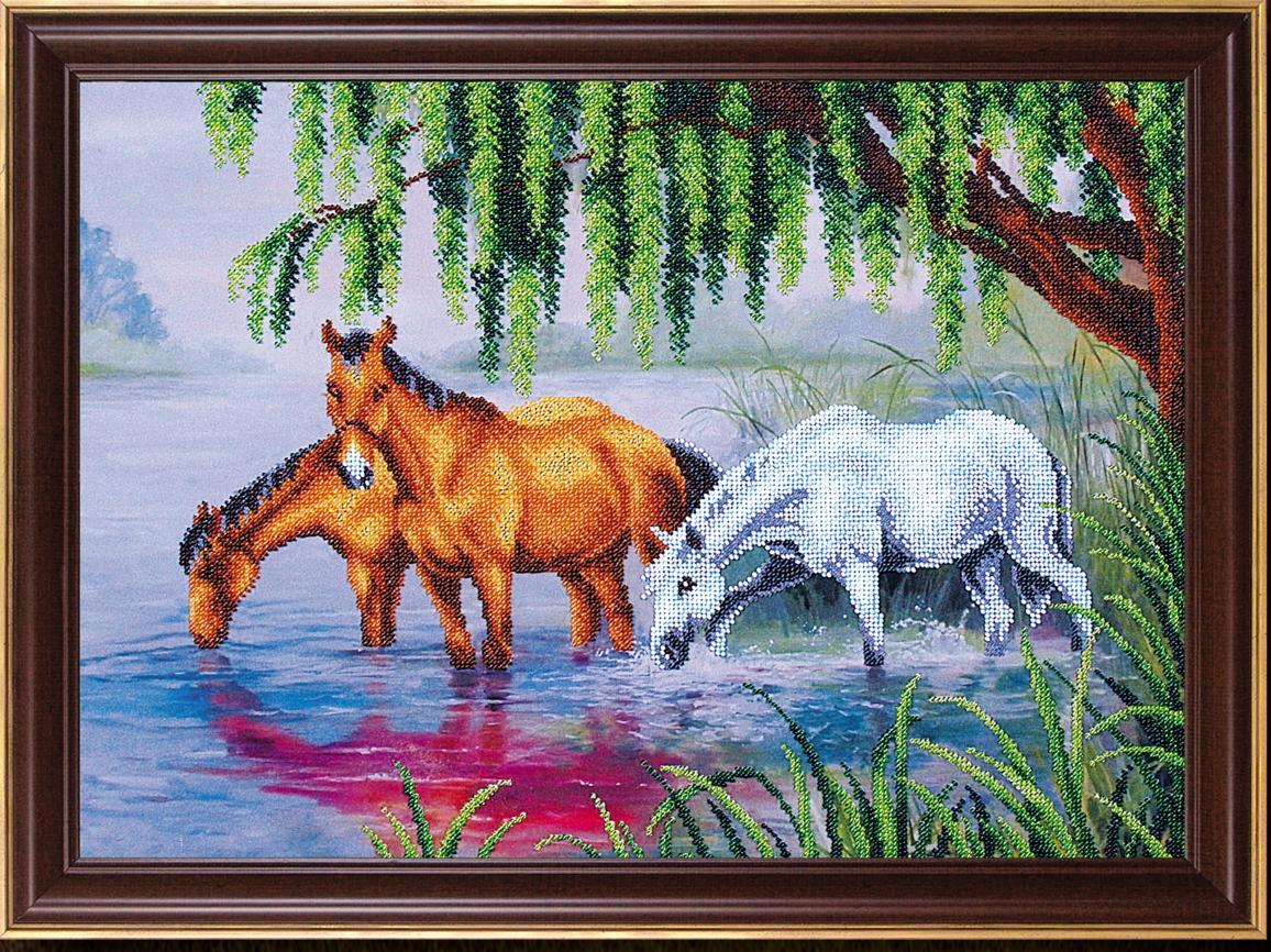 Набор вышивки бисером лошади