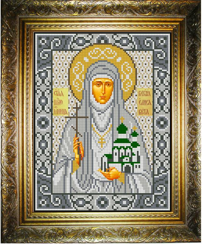 Вышивка бисером икона елизавета