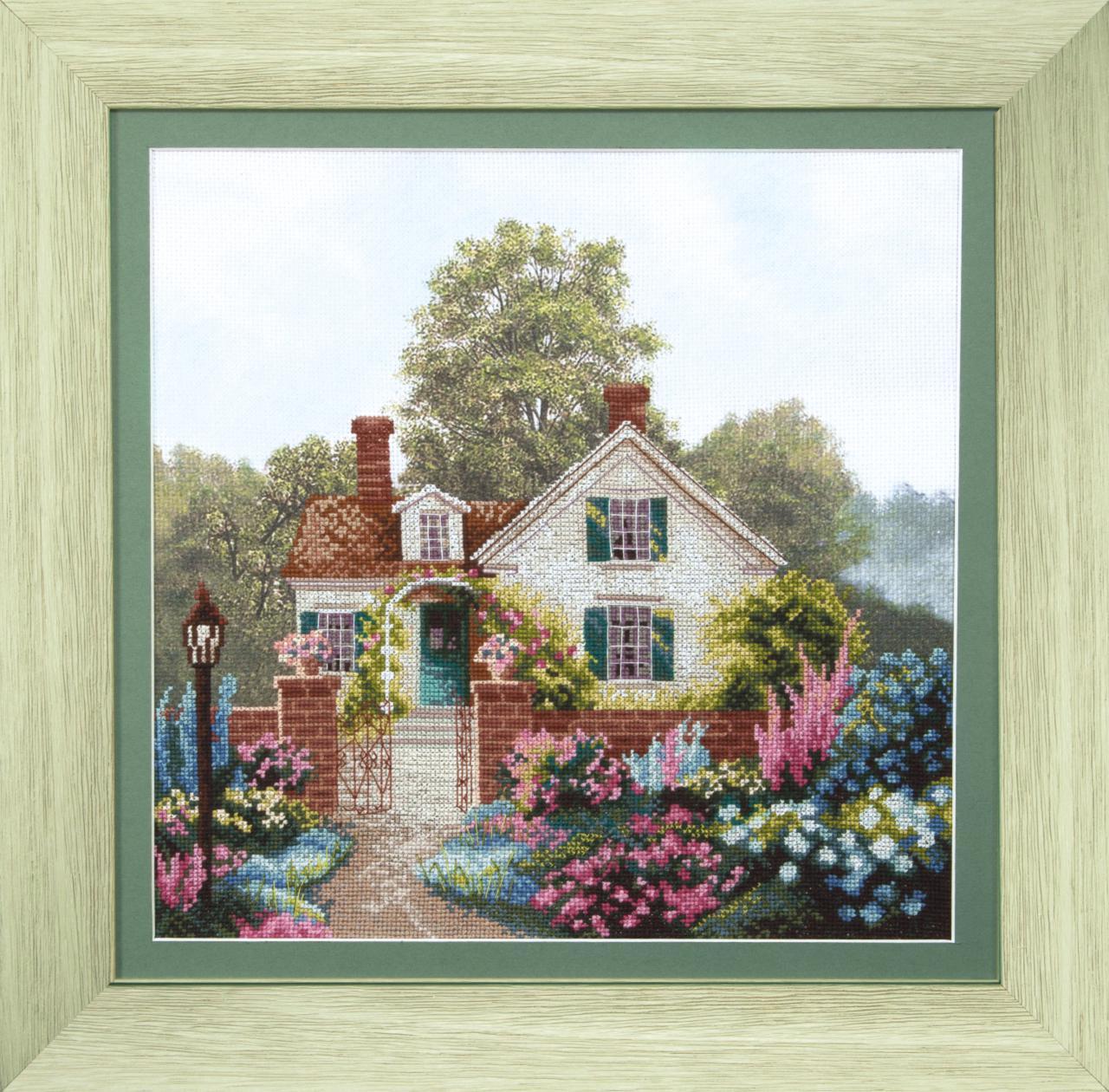Наборы вышивки крестом дома