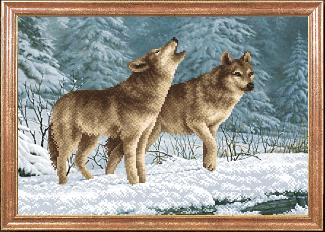 схема маленькая волк