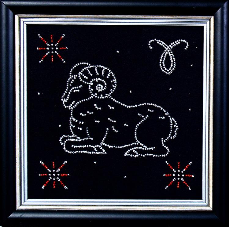 Вышивка гороскоп овен