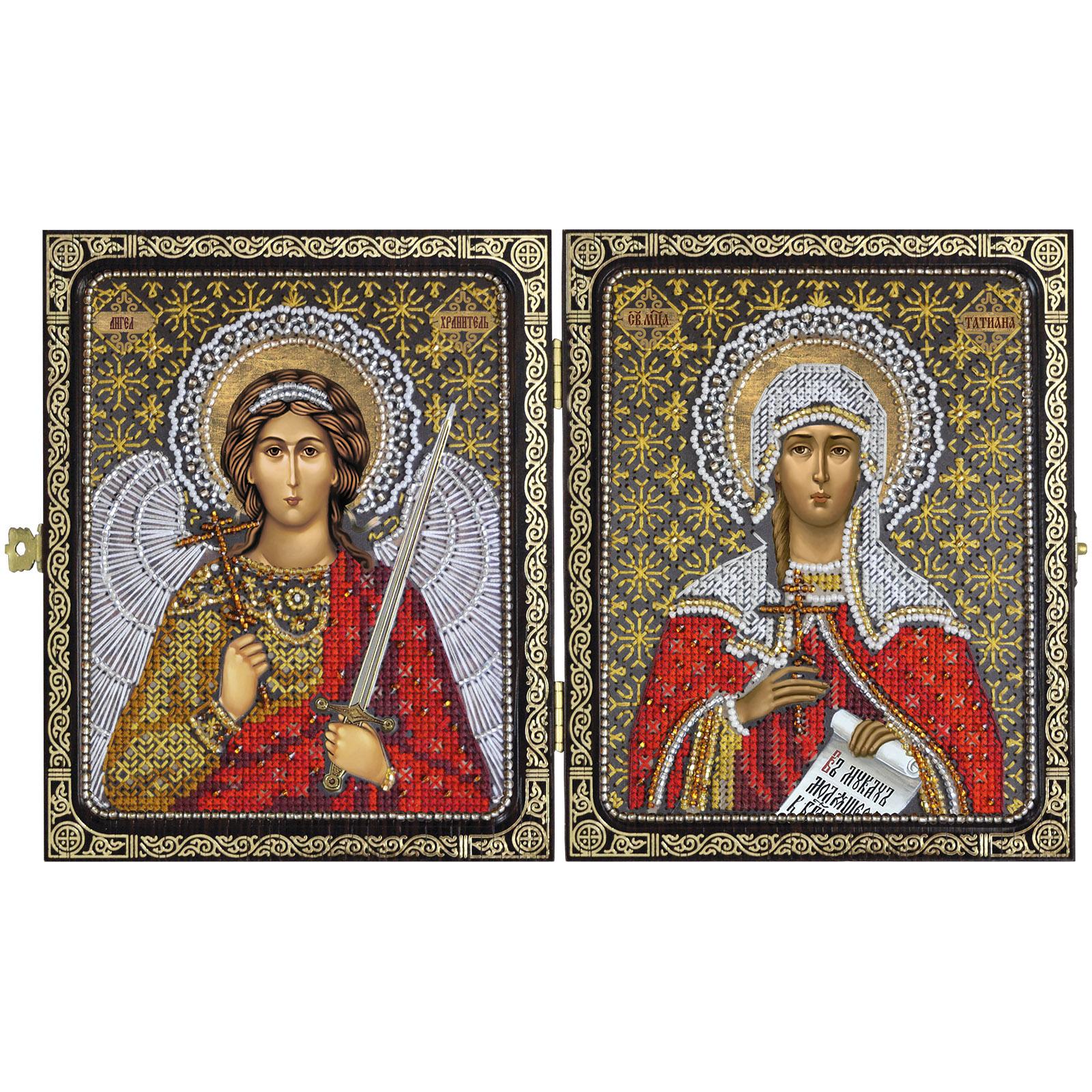 Вышивка икон с ангелами 485