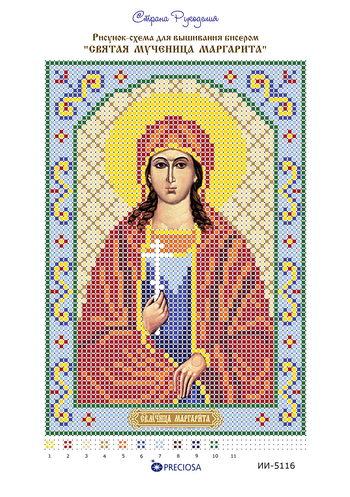 Вышивка бисером иконы маргарита