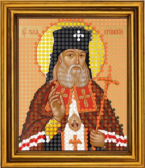 Вышивка бисером святитель лука крымский 8