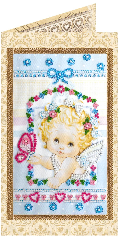 Набор вышивка бисером ангелочки