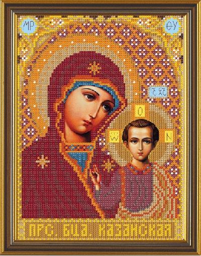 Икона божьей матери для вышивания крестиком