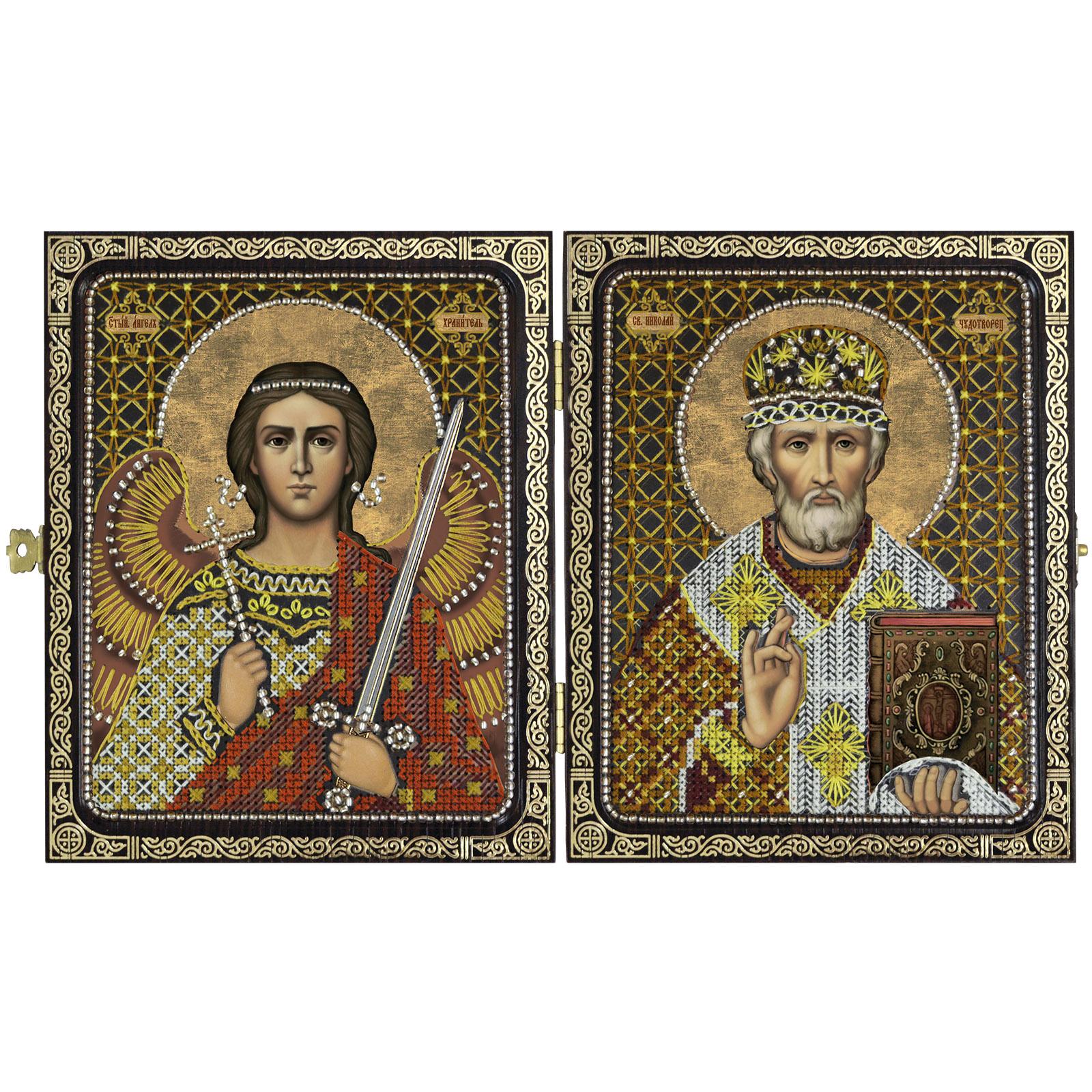Купить наборы для вышивания православный складень Nova