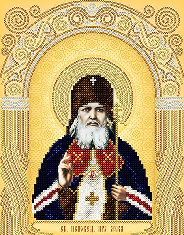 Вышивка бисером святитель лука крымский 96