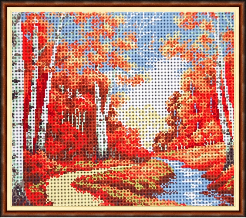 Осенняя прогулка рисунок