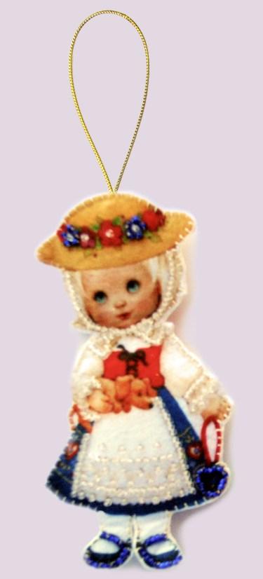 Набор для вышивания кукла
