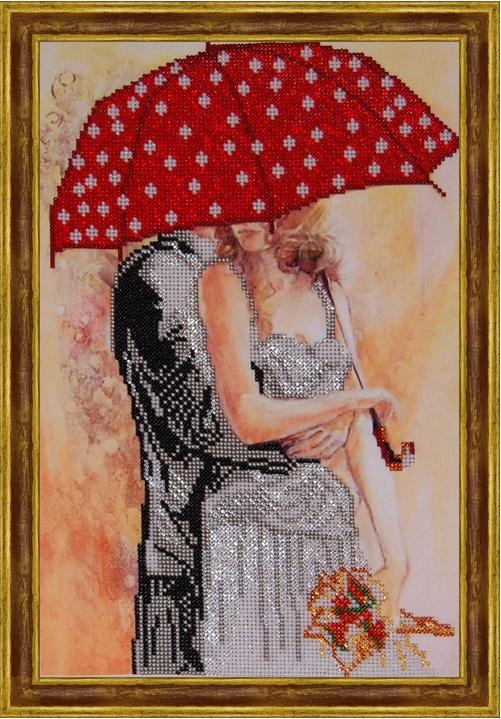 Вышивка крестом двое под зонтом схема 93