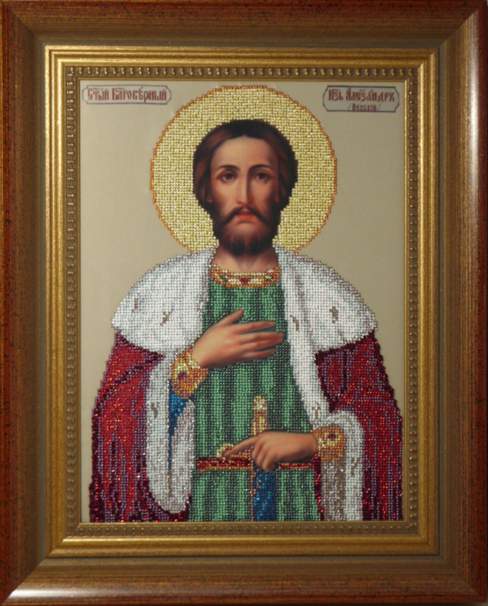 Вышивка бисером св.александра