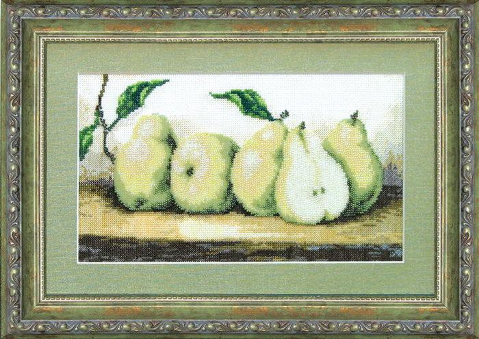 Вышивка бисером груша