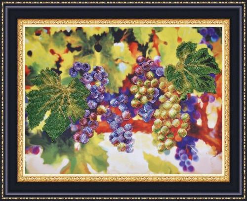 Вышивка бисером схема виноград
